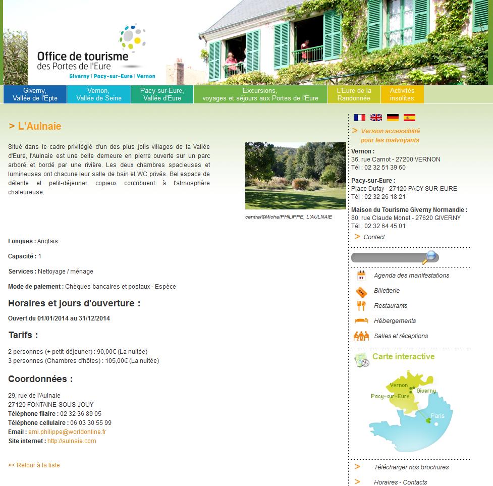 en ligne ici 50-70% de réduction bon out x Office Tourisme CAPE (VERNON - PACY s/Eure)