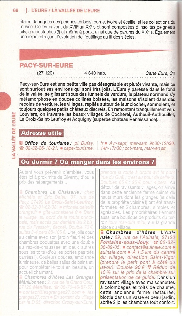 Aulnaie in GUIDE DU ROUTARD